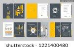 brochure creative design....   Shutterstock .eps vector #1221400480