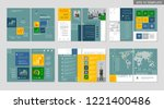 brochure creative design.... | Shutterstock .eps vector #1221400486