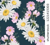 seamless pattern with...   Shutterstock .eps vector #1221415303