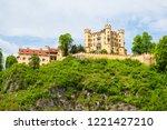 schloss hohenschwangau castle...   Shutterstock . vector #1221427210