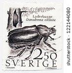 sweden   circa 1987  a stamp... | Shutterstock . vector #122144080