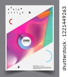 modern abstract covers template....   Shutterstock .eps vector #1221449263