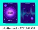 electronic music movement...   Shutterstock .eps vector #1221449500