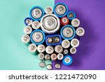 ecology recycling concept. many ...   Shutterstock . vector #1221472090