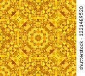 orange repeating kaleidoscope...   Shutterstock .eps vector #1221489520