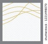 golden or bronze color round... | Shutterstock .eps vector #1221498070