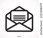 open mail icon  illustration ...