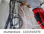 professional electrical... | Shutterstock . vector #1221514270