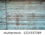 white old weathered wooden... | Shutterstock . vector #1221537289