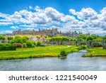 Old Town Of Carcassonne And...