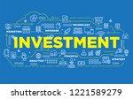 illustration of creative banner ... | Shutterstock .eps vector #1221589279