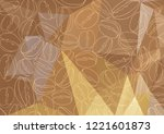 abstract polygonal background...   Shutterstock .eps vector #1221601873