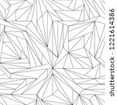 geometric seamless pattern ...   Shutterstock .eps vector #1221614386