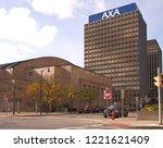 syracuse  new york  usa.... | Shutterstock . vector #1221621409