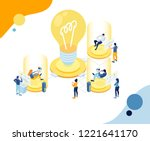 vector creative business...   Shutterstock .eps vector #1221641170