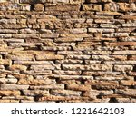 stone wall texture   Shutterstock . vector #1221642103