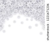 christmas background with white ... | Shutterstock .eps vector #1221671236