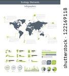 ecology infographic vector... | Shutterstock .eps vector #122169118