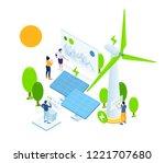 vector creative business...   Shutterstock .eps vector #1221707680
