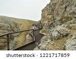 adrenaline walking trail near... | Shutterstock . vector #1221717859