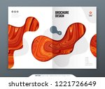 brochure template layout design.... | Shutterstock .eps vector #1221726649