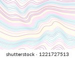 color wave stripe background  ... | Shutterstock .eps vector #1221727513