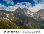 high alpine road fuscher torl... | Shutterstock . vector #1221728446