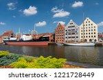 june 4  2018. museum ship... | Shutterstock . vector #1221728449