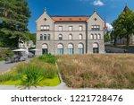 july 13  2018. bibliothek zug ... | Shutterstock . vector #1221728476