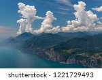 july 22  2018. view from mt.... | Shutterstock . vector #1221729493