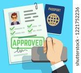 Visa Concept. Passport Or Visa...