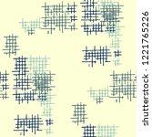 grunge seamless lattice....   Shutterstock .eps vector #1221765226