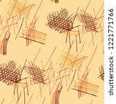 various pencil hatches....   Shutterstock .eps vector #1221771766