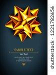 abstract vector banner. shining ... | Shutterstock .eps vector #1221782656