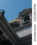 st. isaac's cathedral st.... | Shutterstock . vector #1221821956