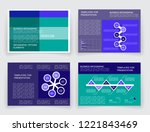 simple templates for business... | Shutterstock .eps vector #1221843469
