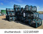 Crab Fishing Cages On A Kay In...