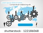easy to edit vector... | Shutterstock .eps vector #122186068