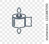 tissue concept vector linear... | Shutterstock .eps vector #1221887050