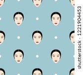 seamless geometrical pattern...   Shutterstock .eps vector #1221904453