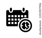 reservation icon. trendy... | Shutterstock .eps vector #1221907906