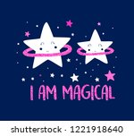 stars pattern vector and i am... | Shutterstock .eps vector #1221918640