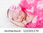 sleeping small princess in... | Shutterstock . vector #122201170