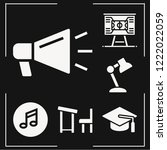 set of 6 concept filled icons...   Shutterstock .eps vector #1222022059