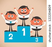 winners  conceptual... | Shutterstock .eps vector #122204809
