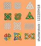 celtic knots   Shutterstock .eps vector #122205418