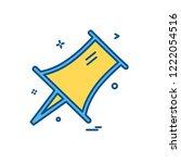 pin icon design vector | Shutterstock .eps vector #1222054516