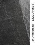 dark grey black slate... | Shutterstock . vector #1222094596