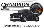 Champion Banner With Custom...