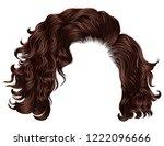trendy woman short  hairs... | Shutterstock .eps vector #1222096666